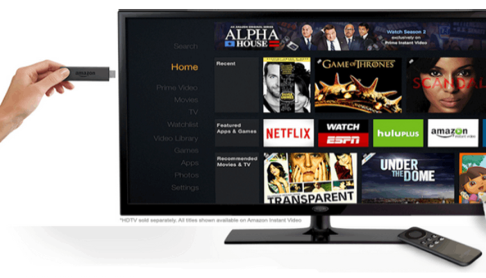 amazon prime fire tv