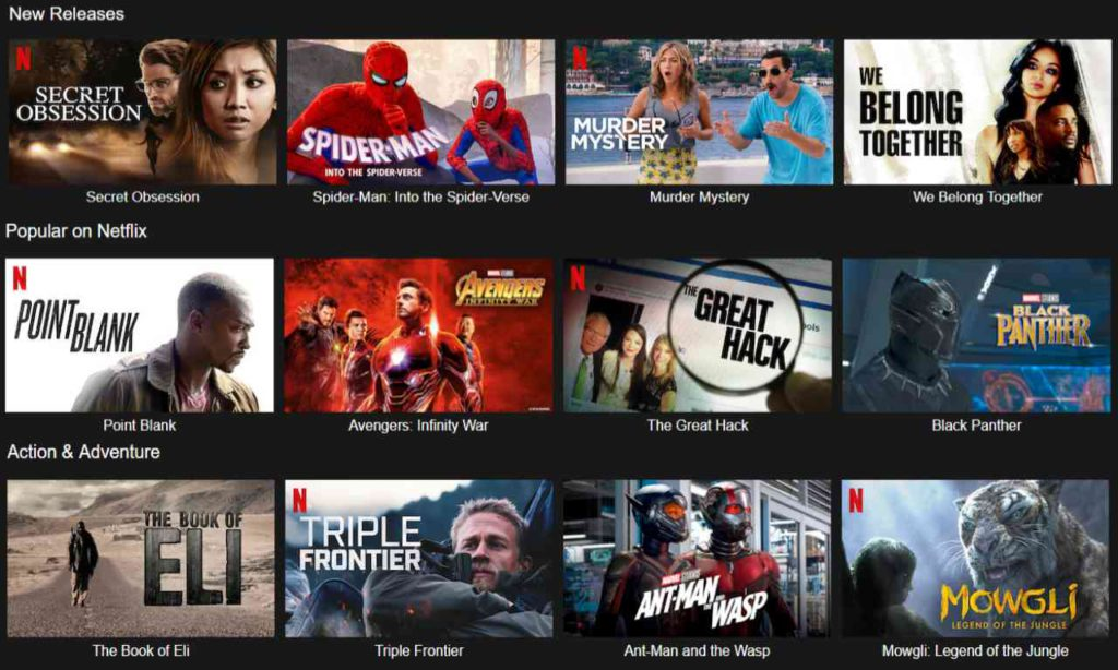 Best Movies on US Netflix Right Now