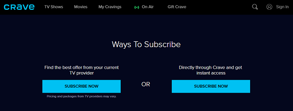 crave-tv-subscribe-methods-USA