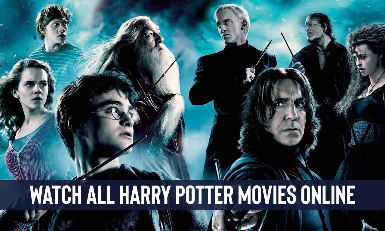 Yes! You Can Watch All Harry Potter Movies On Netflix