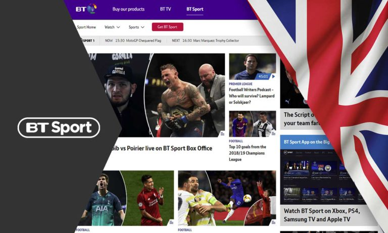 How to Watch BT Sport Outside the UK in 2020 [Easy Guide]
