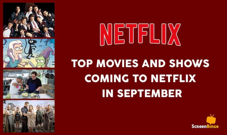 Everything Coming to Netflix this September 2019