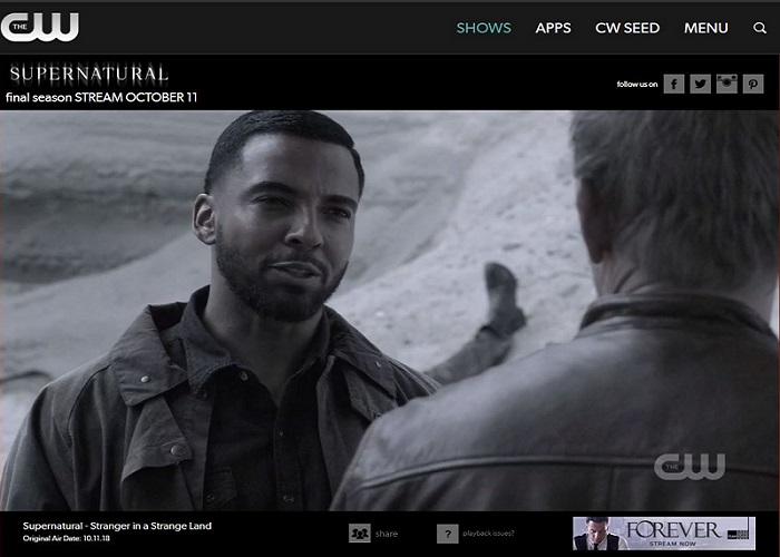Watch Supernatural Online working