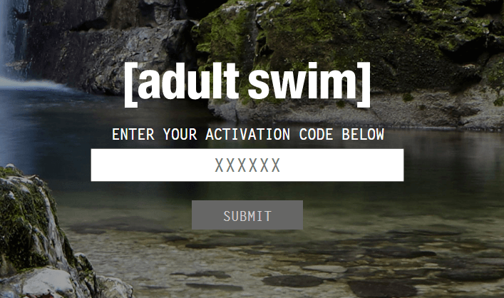 activate Adult Swim on Apple TV and Roku