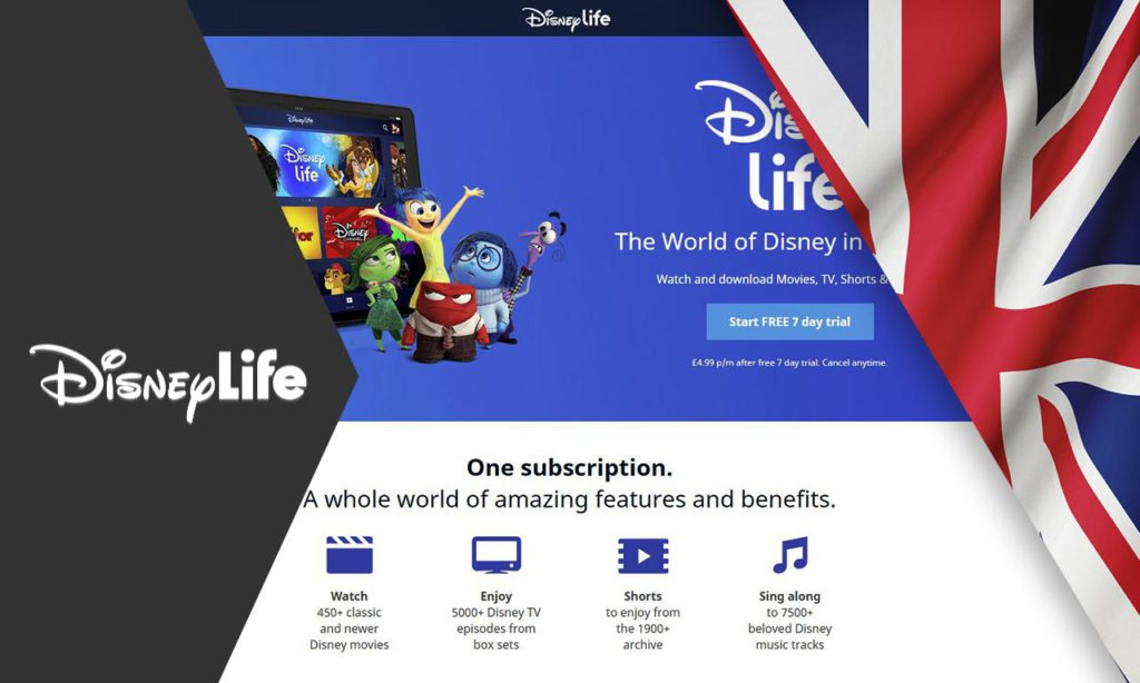 How to Watch DisneyLife Outside UK in 2020