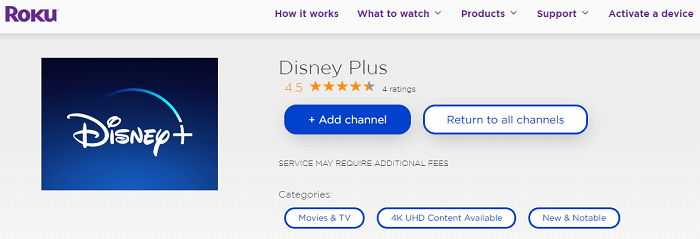roku_disney plus
