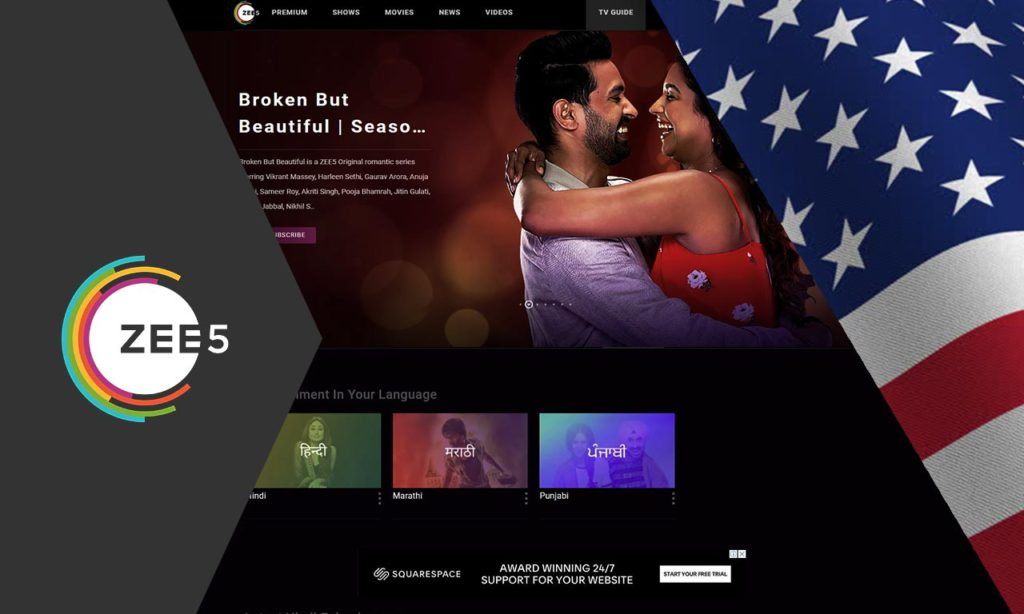 How to Watch ZEE5 in USA (Updated Feb, 2020)