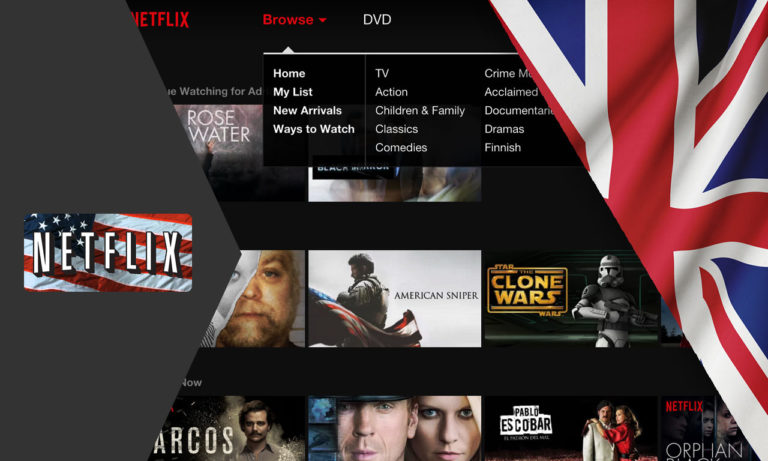 How to Get American Netflix in UK [Oct. 2020 Update]