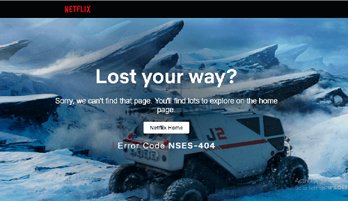 Netflix Geo Restriction Error