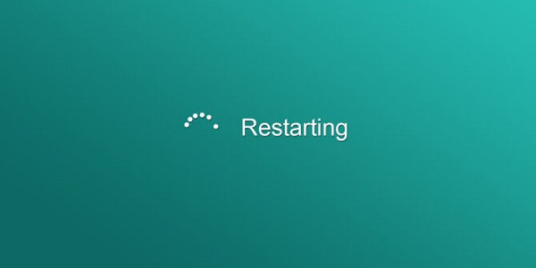 Try a Windows Restart