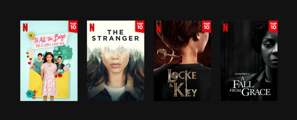 Netflix Top 10 lists feature 1