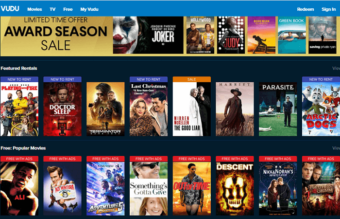 Vudu Movies Collection