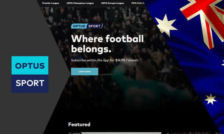 Watch Optus Sport Overseas