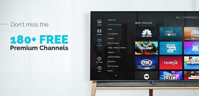 Xumo TV FREE Premium Channels