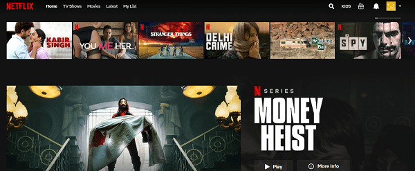 American Netflix Opened with Tunnel Bear
