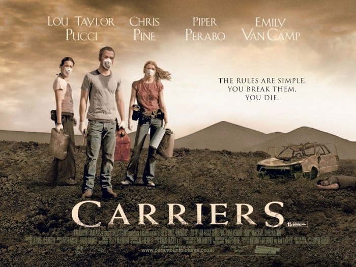Carriers (2009) One of the Top Epidemic Movies