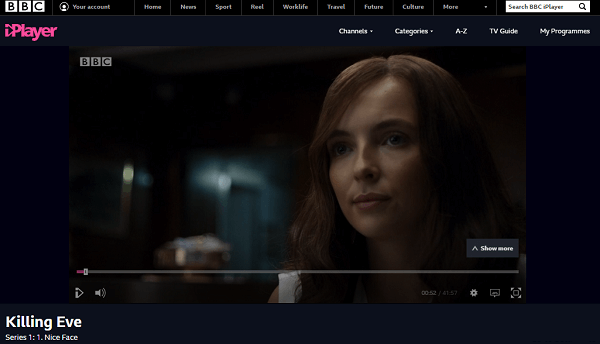 BBC iplayer working in australia