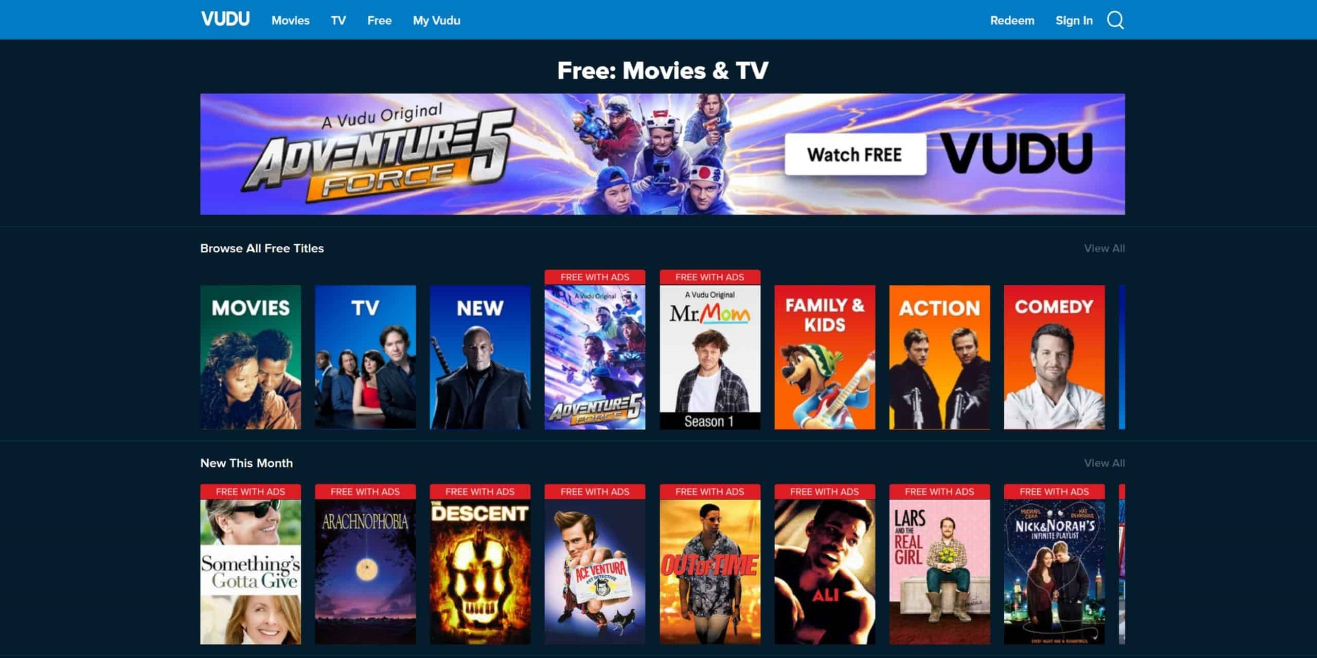 vudu- PrimeWire Alternatives