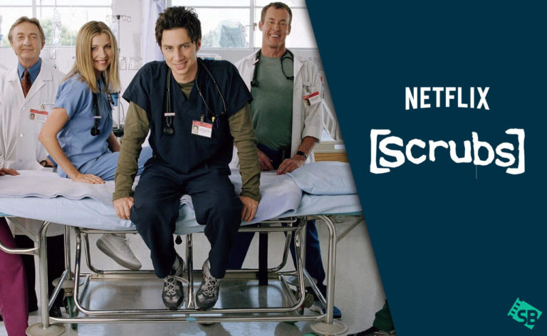 is scrubs on netflix