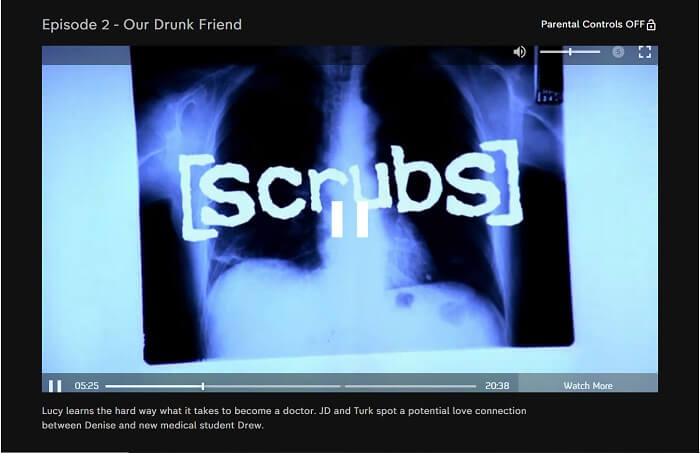 Scrubs Streaming on Channel 4