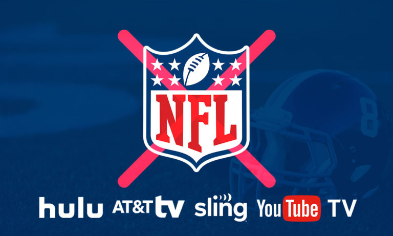 How to Watch NFL Live Online If Gets Blackout on Hulu, AT&T TV Now, Sling TV and YouTube TV