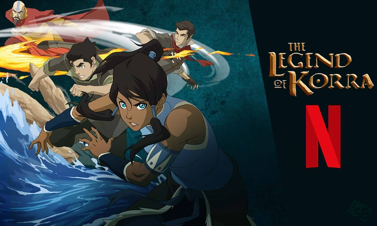 The Legend Of Korra Netflix
