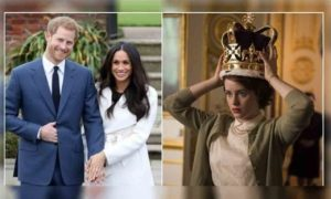 'The Crown' Might Feature Prince Harry's & Meghan Markle's Story