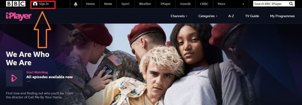 how to get bbc iPlayer account