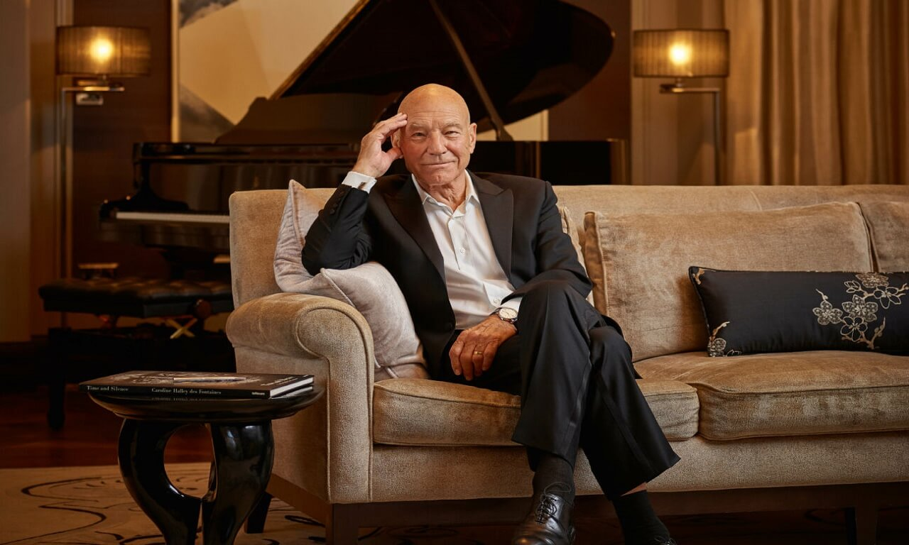 Sir Patrick Stewart Still in Therapy at 80 – Opens Up About Facing Domestic Abuse!