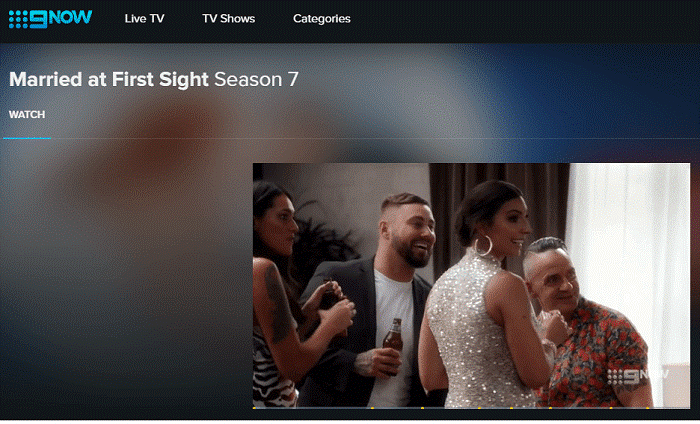 MAFS Channel 9 working with VPN