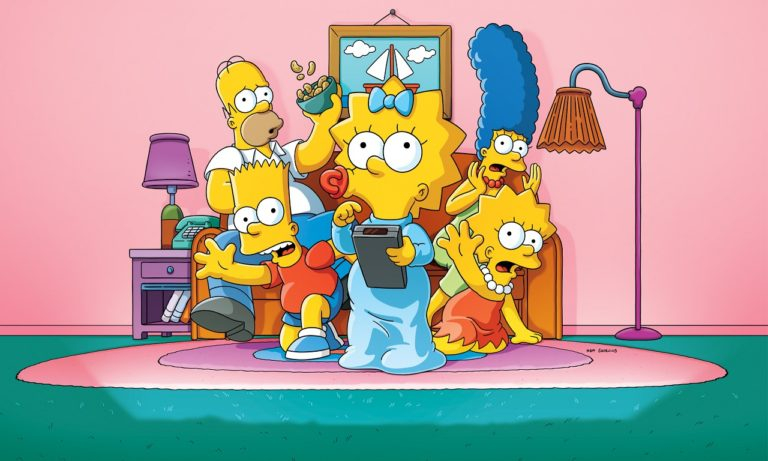 how to watch the Simpsons