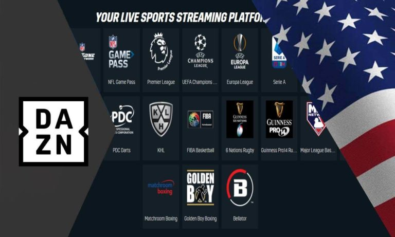 watch DAZN from Anywhere outside us