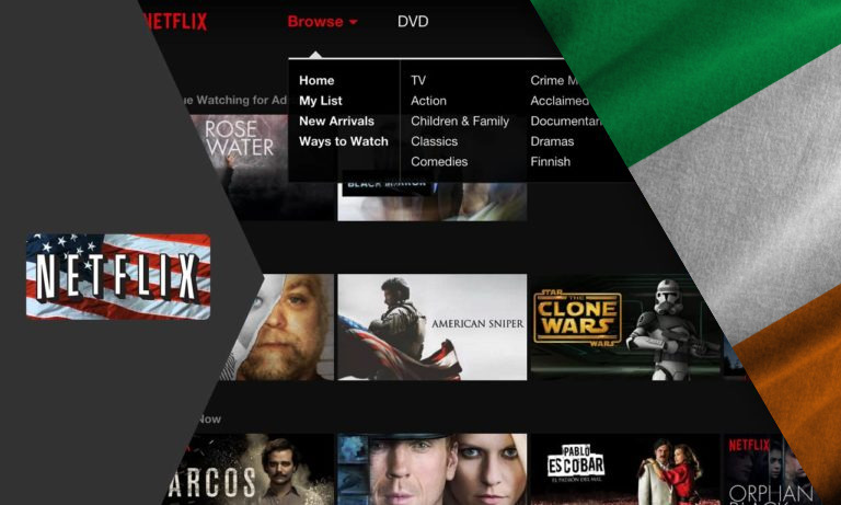 How to Get American Netflix in Ireland [2021 Guide]