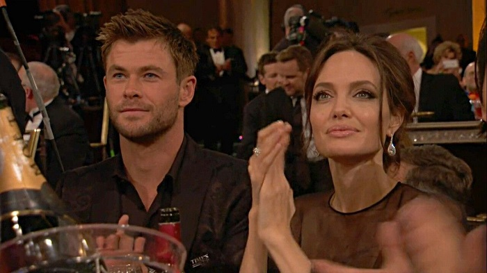 Angelina-Jolie-Flirting-with-Chris-Hemsworth-is-causing-Trouble-in-his-Marriage