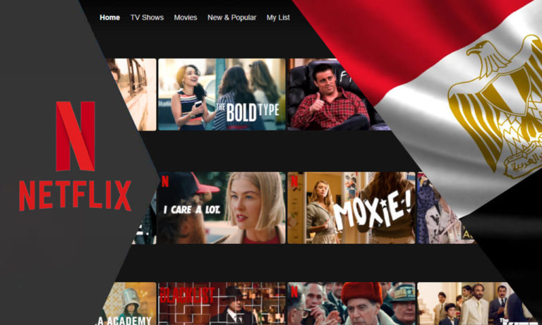 How to get American Netflix in Egypt