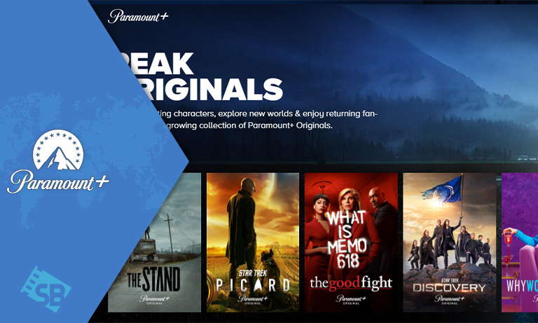 Paramount Plus from anywhere