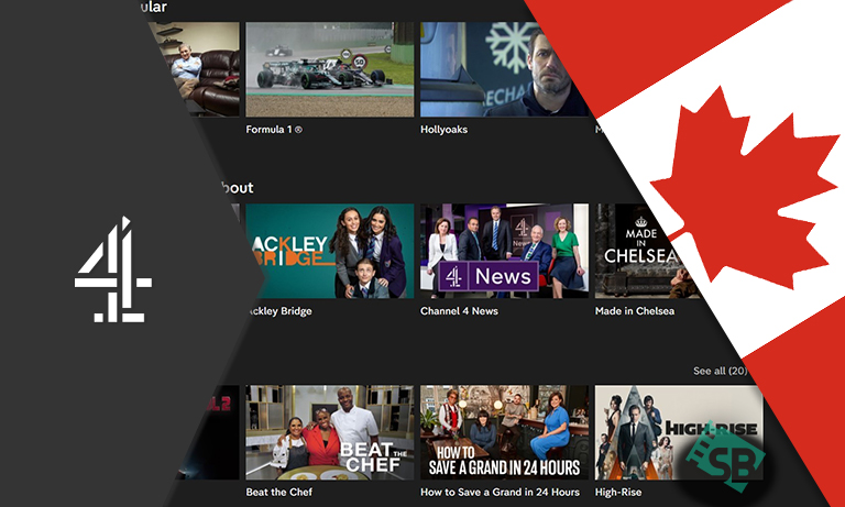 Channel 4 in Canada