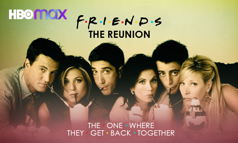 Watch Friends Reunion from Anywhere