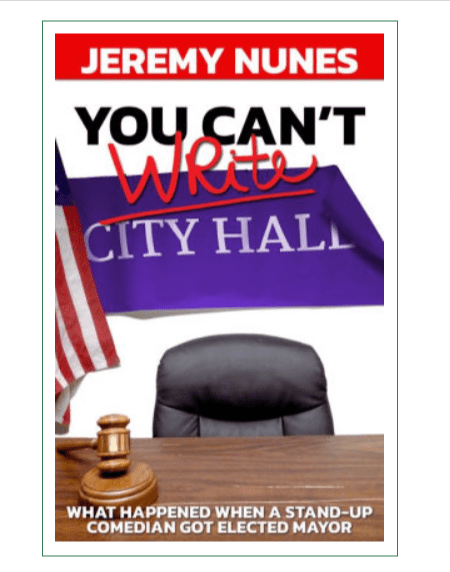 You Can't Write city hall