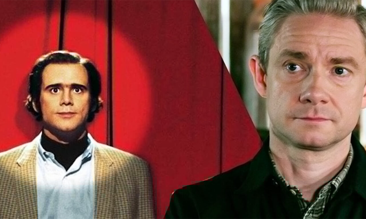 Martin Freeman Mocks Jim Carrey For Not Breaking Character For Months Due to Intensive Method Acting