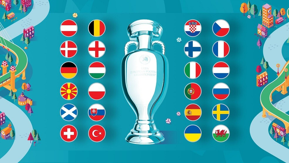 uefa euro 2020 competing nations