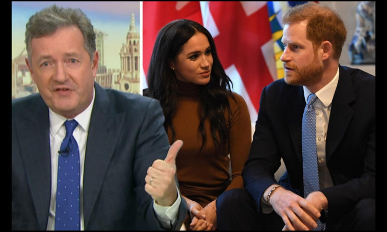 """Here's Why Piers Morgan takes Everything """"Meghan"""" So Personally - Calls Oprah Interview Trash."""