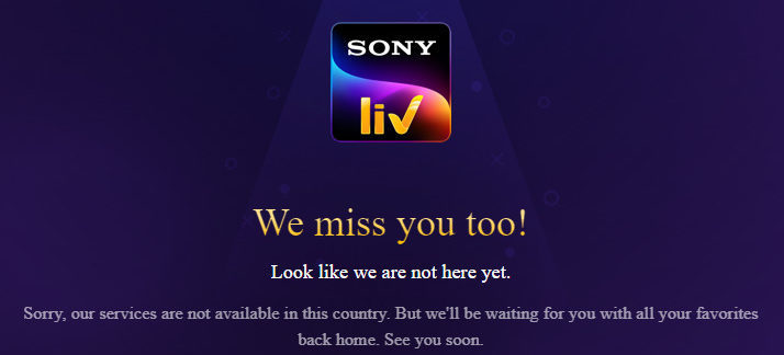 How to Watch SonyLIV in UK in 2021