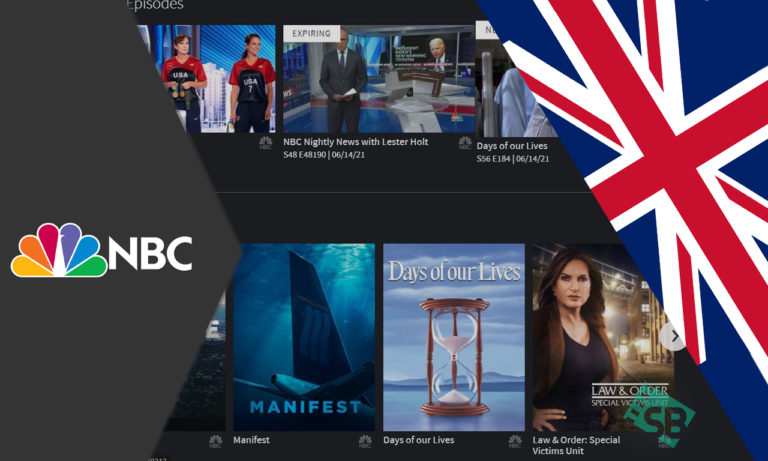 How to Watch NBC in UK in 2021 [Easy Guide