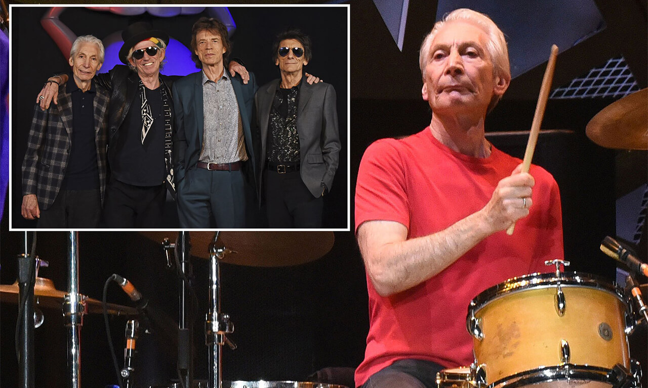 Rolling Stone's Charlie Watts Passes Away- Band Mates Mick Jagger & Keith Richards Pay Tribute.