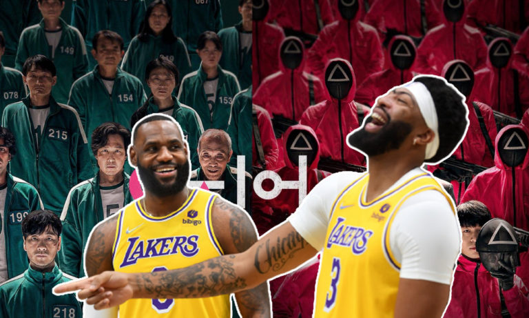 LeBron and Anthony Davis discuss Squid Game finale
